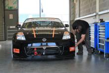 Team Lizard Motorsport - getting ready for testing