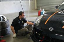 Team Lizard Motorsport - in the garage