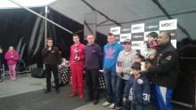 Team Lizard Motorsport - trophy giving